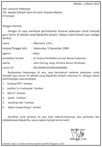 Sistematika Surat Lamaran Kerja : sistematika, surat, lamaran, kerja, MENGIDENTIFIKASI, SISTEMATIKA, SURAT, LAMARAN, PEKERJAAN, ZUHRI, INDONESIA