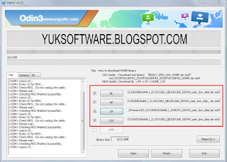 Samsung s6102 flash file 4file