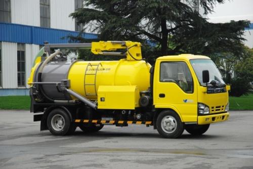 Lựa chọn xe hút bể phốt 2 khối tại Nam Định