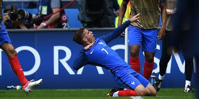 Hasil Pertandingan Perancis vs Republik Irlandia: Skor 2-1