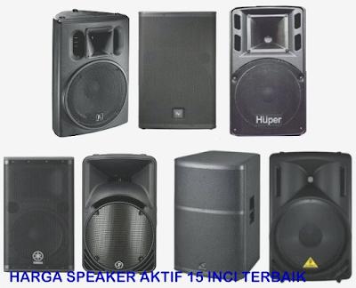 Harga-Speaker-Aktif-15-inch-Terbaik