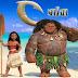 Moana: Um Mar de Aventuras, 2017. Trailer. Animação, aventura e comédia com Dwayne Johnson.