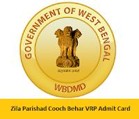 Zila Parishad Cooch Behar VRP Admit Card