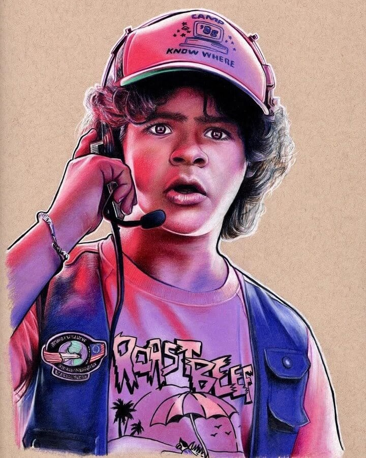 03-Stranger-Things-Dustin-Chris-Pencil-Drawings-www-designstack-co