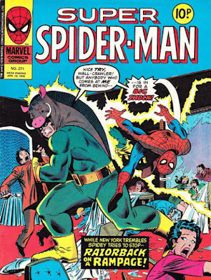 Super Spider-Man #271, Razorback