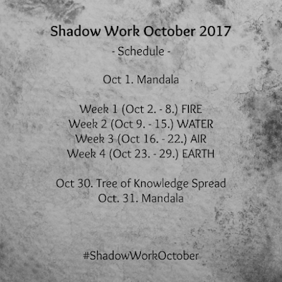 #ShadowWorkOctober 2017: The Elements