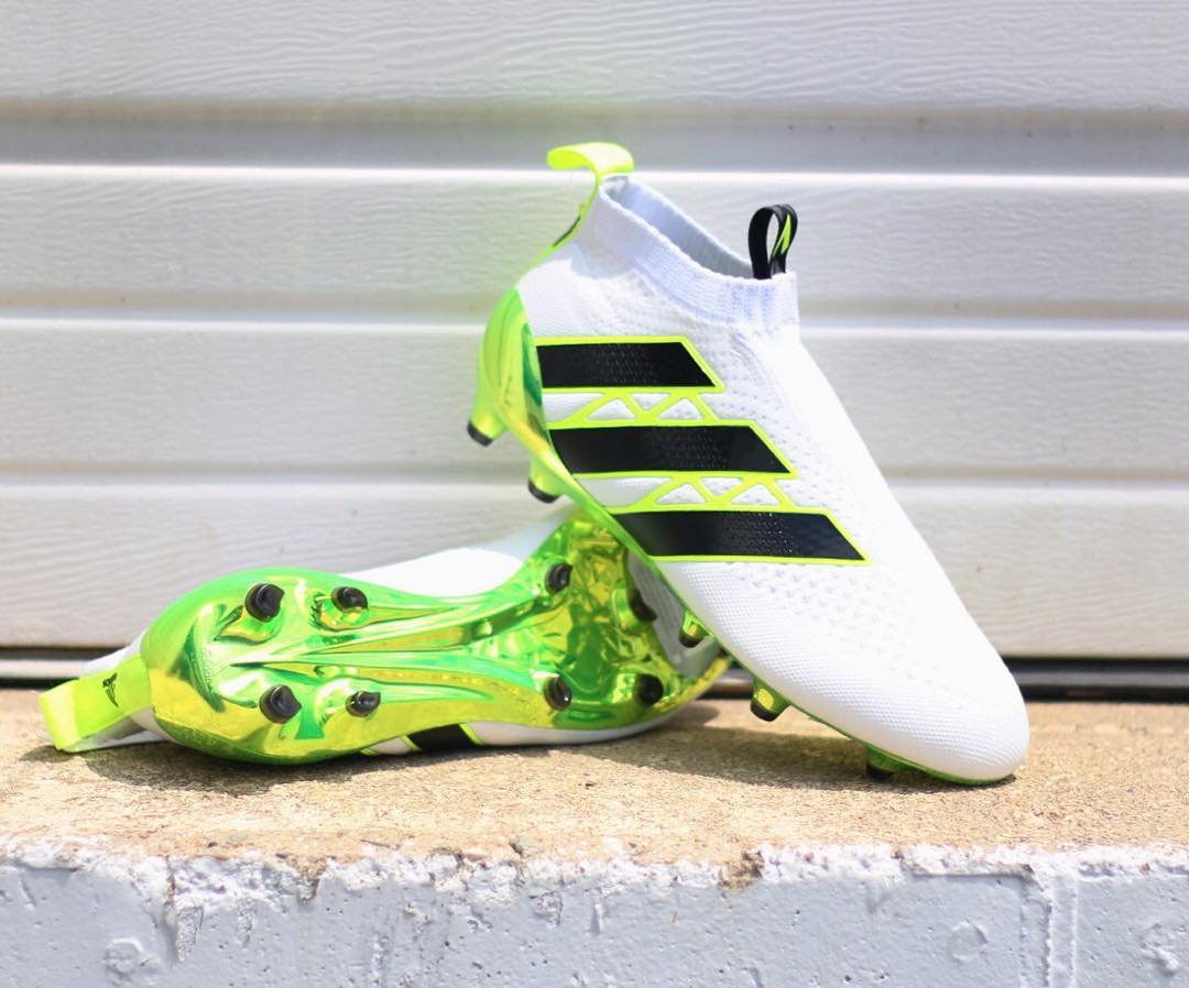 white adidas ace 16 purecontrol 2016 speed of light boots. Black Bedroom Furniture Sets. Home Design Ideas