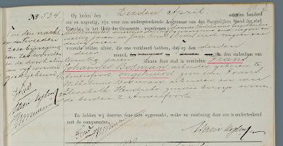 Utrechtse overlijdensakte van Frans Johannes Bosman