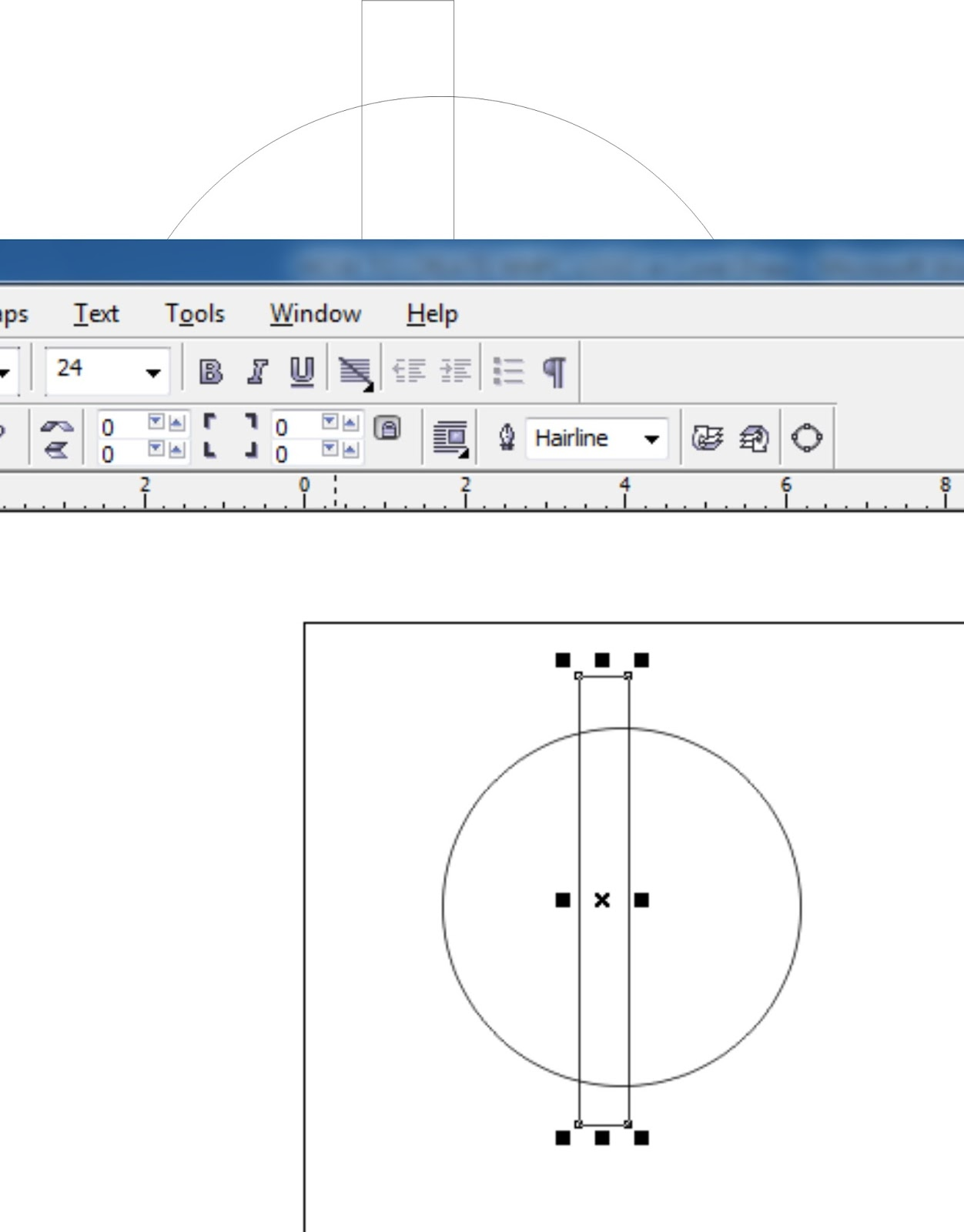 how to create corel draw