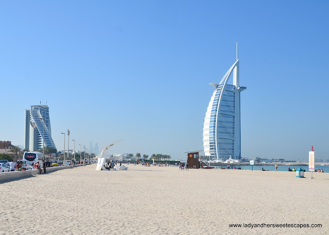 Burj Al Arab from Umm Suquiem Beach