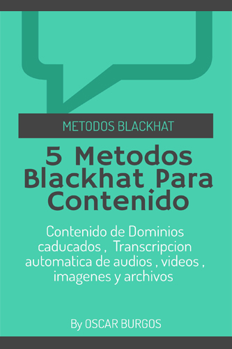5 métodos blackhat para contenido original
