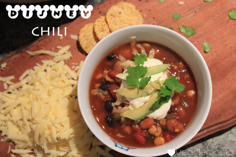 Disney World Chili - a winter warmer favourite from the Happiest Place on Earth