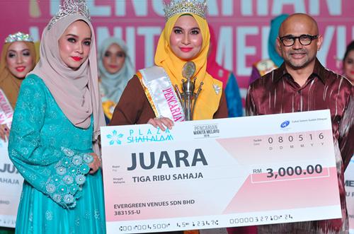 Pencarian Wanita Melayu 2016 - juara