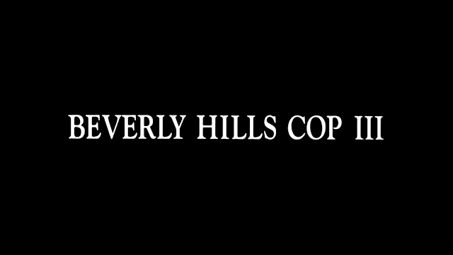 The plain jane Beverly Hills Cop III Title Card