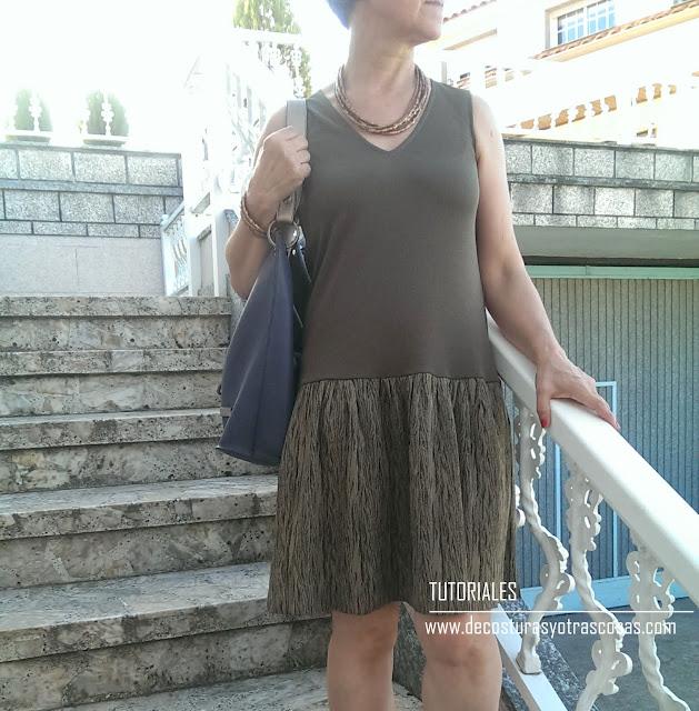 tutorial vestido fácil