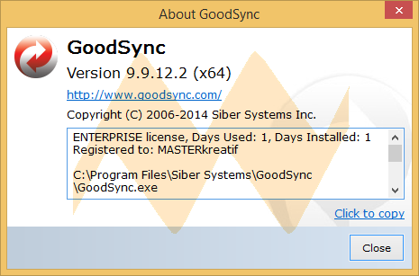 GoodSync Enterprise 9.9.12.2