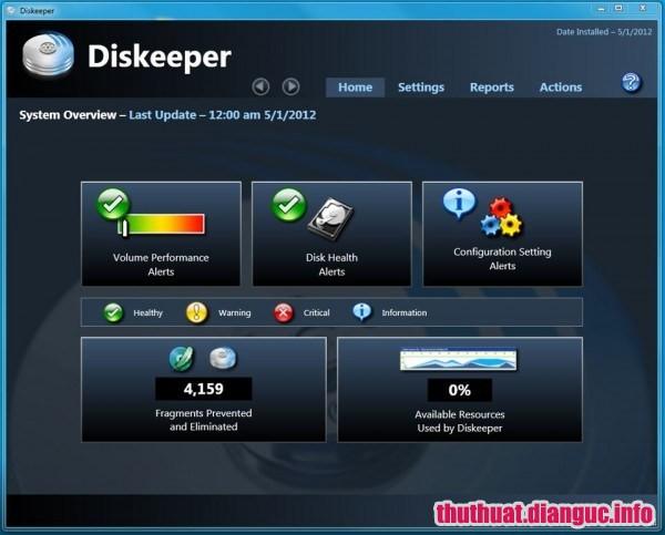 Diskeeper Professional 18 v20.0.1286.0 Full Cr@ck – Chống phân mảnh nâng cao