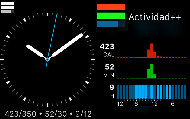 application rappel apple watch complication