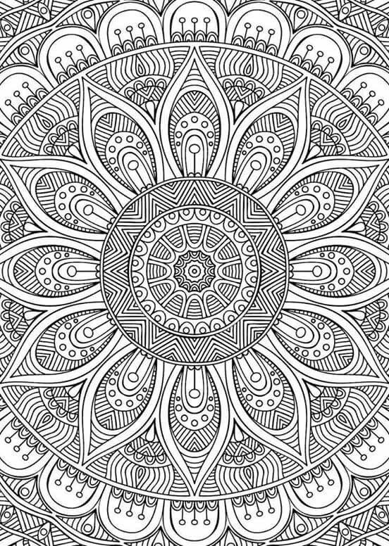 Educación Artística: Mandalas cuadrados