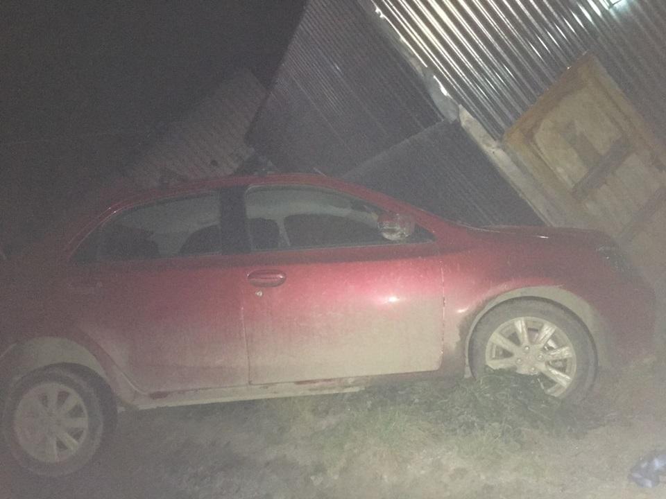 Vehiculo desbarrancado en Ushuaia