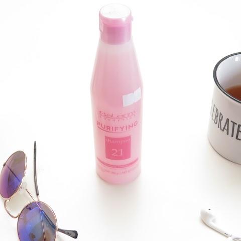 SALERM Purifying shampoo 21, 250ml Ypač valantis plaukus ir galvos odą šampūnas