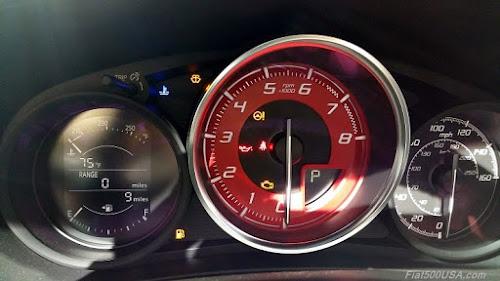 Fiat 124 Elaborazione Abarth Tachometer