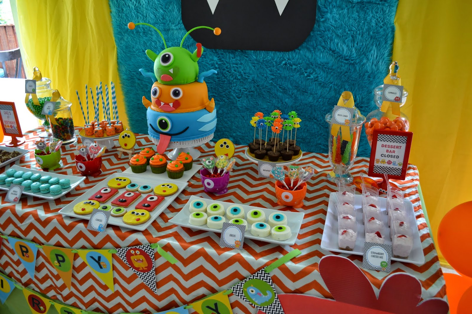 Partylicious Little Monster Birthday Bash