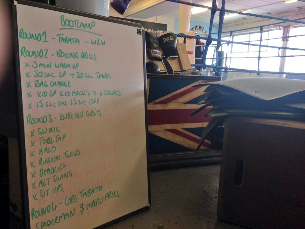 Boxing bootcamp at The Stables Gym, Brighton Racecourse | FitBits