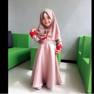 Gamis Dan Hijab Syar I Putri Aisyah Gamis Dan Hijab Syar I Putri Aisyah