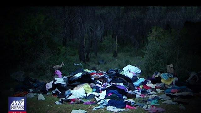 Πέταξαν την ανθρωπιστική βοήθεια για τους κατοίκους της Μάνδρας στα... σκουπίδια!!! (βίντεο)