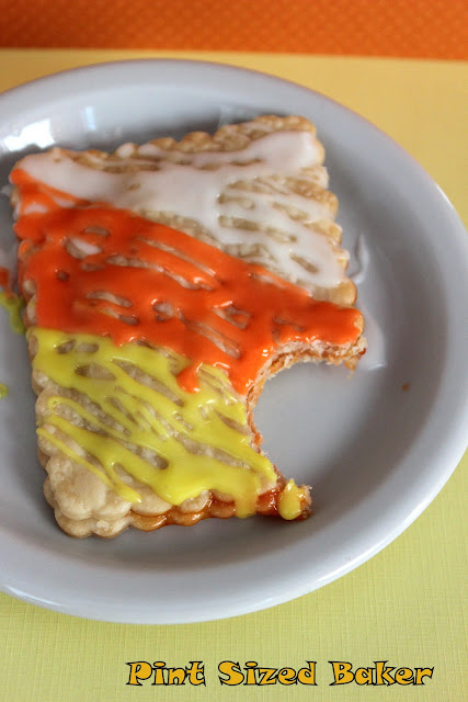 Candy Corn Pop Tarts