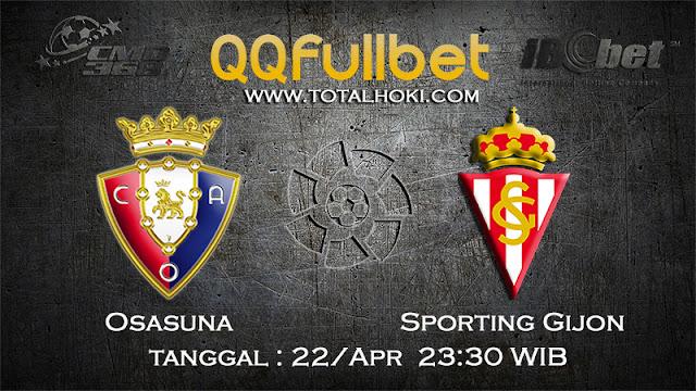 PREDIKSIBOLA - PREDIKSI TARUHAN OSASUNA VS SPORTING GIJON 23 APRIL 2017 (LA LIGA SPANYOL)