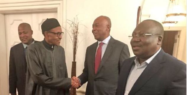 Buhari Speaks Out for the First Time Since on Vacation