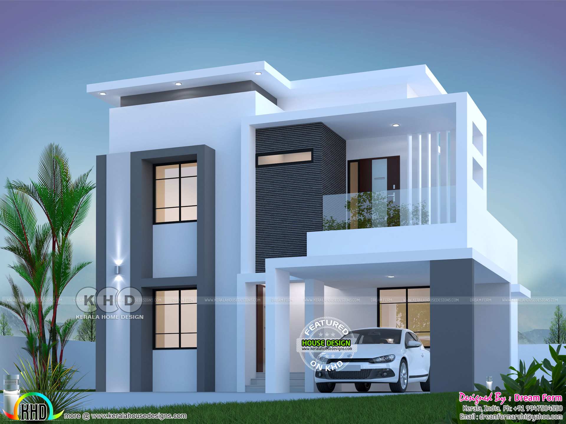 1800 square feet 3 bedroom elegant double storied house ... on double gable front house design, indian modern houses interior design, double floor living room, double storey house design, colonial style home design, double floor lamps, modern double story home design,