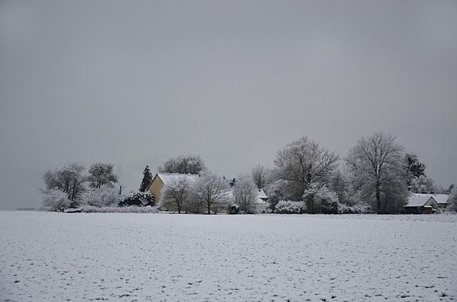 Les Chevillons lieu-dit Yonne Puisaye Neige