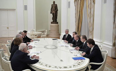Meeting with Minister-President of Bavaria Horst Seehofer.
