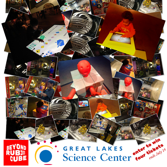 Win Tickets to Great Lakes Science Center's Beyond Rubik's Cube #thisiscle @mryjhnsn