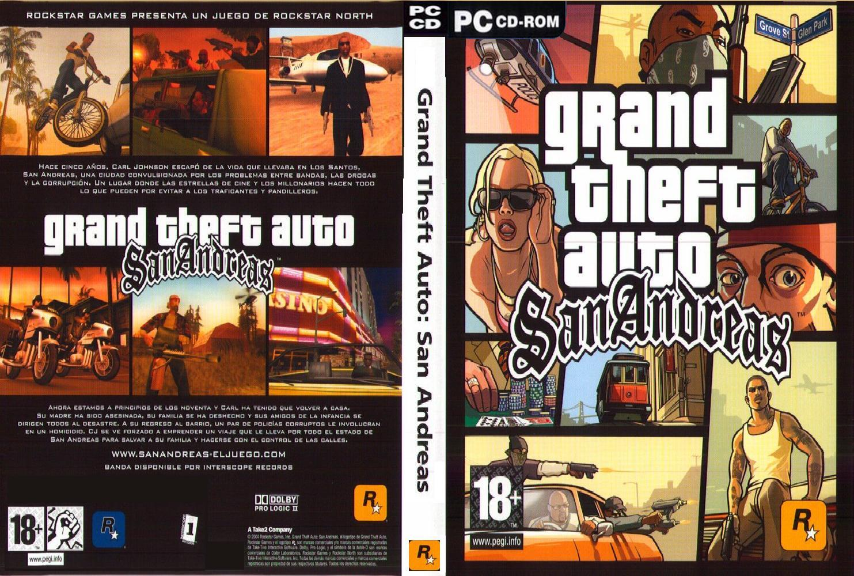 تحميل لعبة gta san andreas كاملة و مجانا