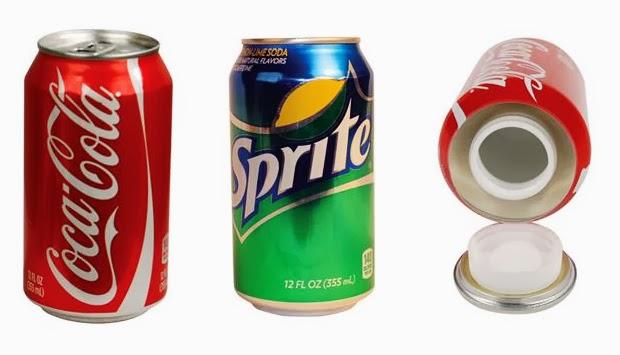 tin cans hidden safes