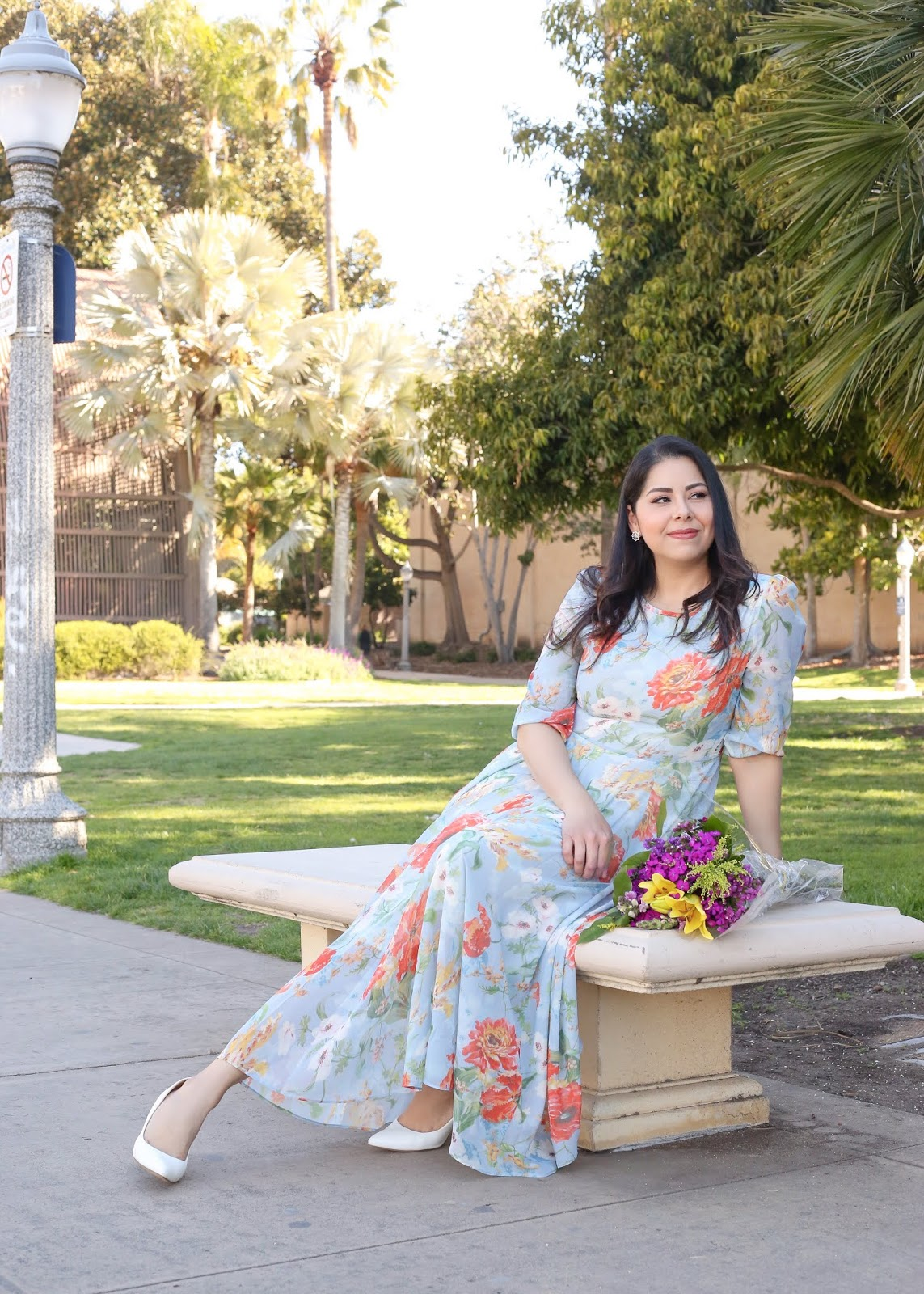 how to wear a peach flowered dress, elegant floral dresses under 100,