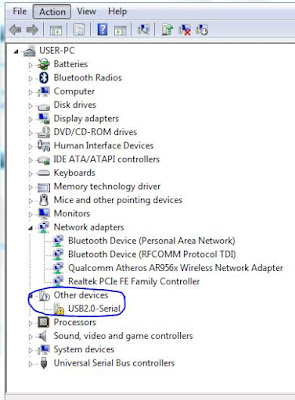 Arduino Uno Not Recognized Usb in Windows 7