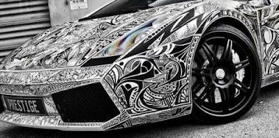 Learn How to Draw Lamborghini Aventador LP750-4 SV ... |Lamborgini Cars Drawings Tattoo