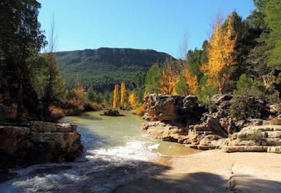 Imagen Chorreras de Enguidanos, río Cabriel