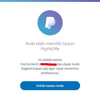 Cara Membuat dan Menggunakan Tautan Paypal .Me Untuk Menerima Pembayaran