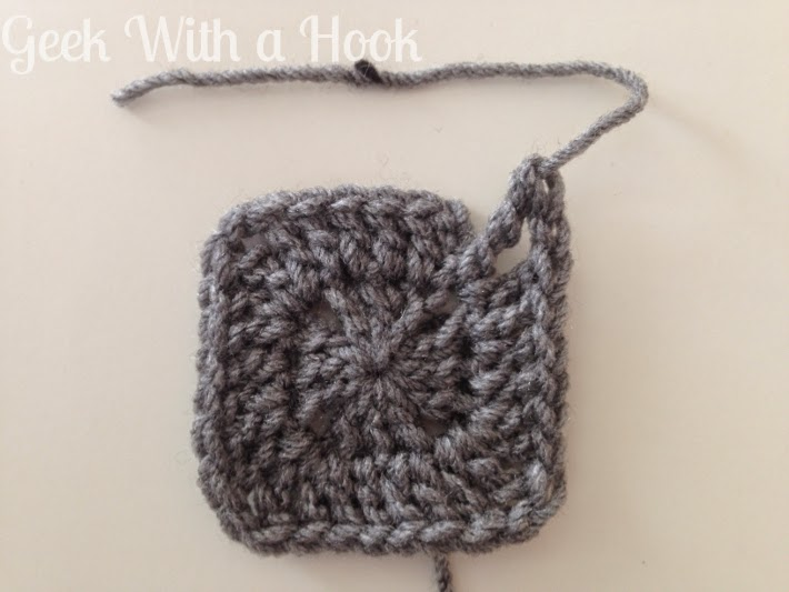Geek With A Hook Solid Granny Square Pattern For Pixel Crochet