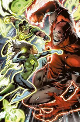 Cover-Variante 2 | GREEN LANTERNS 1: Rebirth - DC-Comic | Panini-Verlag
