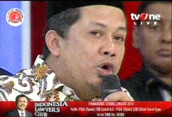 """Jleb! Fahri: Kenapa """"Pendukung LGBT-Islamophobia-Kriminalisasi Ulama-Pro Asing"""" dari Kubu yang Sama?"""