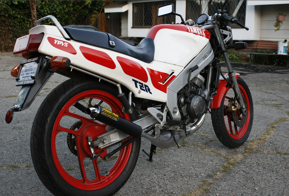 craigslist los angeles two stroke of the day: 86 yamaha tz 125