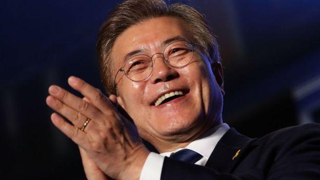 South Korea's president to be sworn in