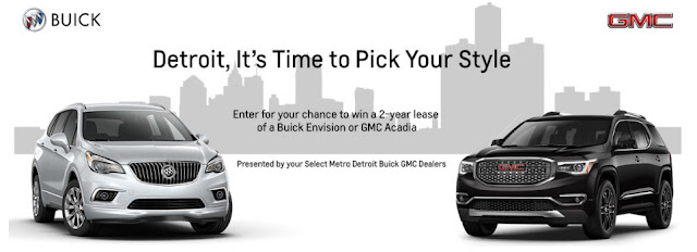 Buick GMC Pick Your Style Sweepstakes